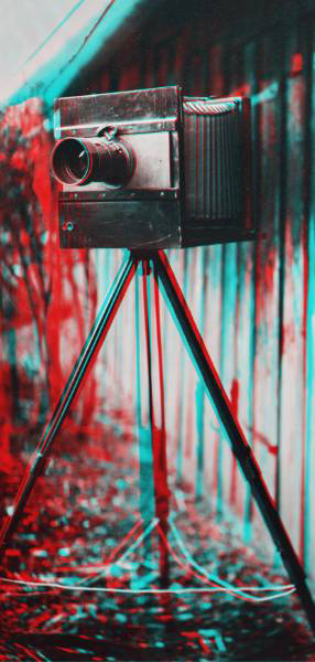 Stereo wetplate anaglyph