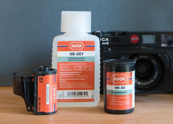 Adox HR-50 and Leica M6