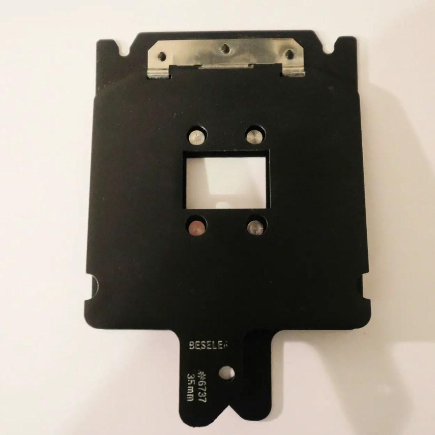 Budget darkroom - 35mm Negative Carrier