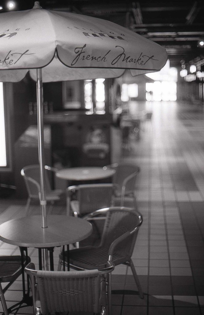 Following in Vivian Maier's footsteps - French market