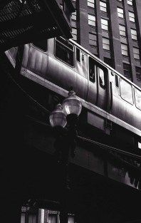 Following in Vivian Maier's footsteps - L Train