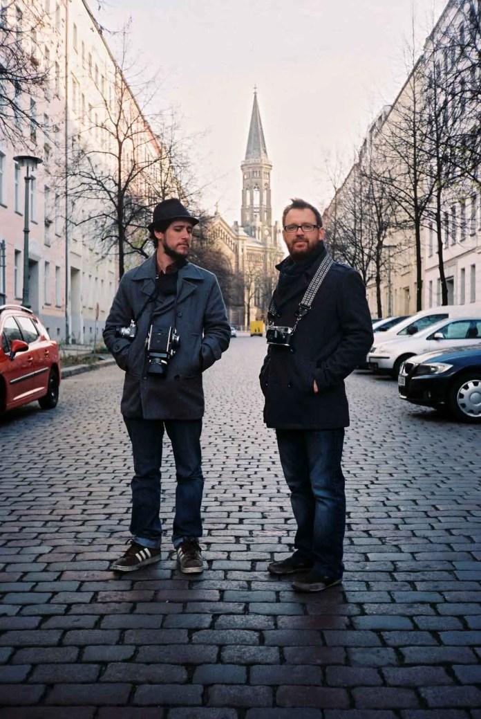 Matt and Brian in Berlin