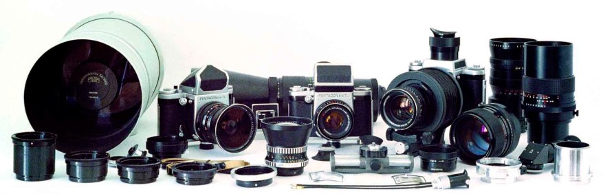 The Pentacon Six system. Credit: http://www.pentaconsix.com