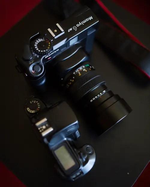 Mamiya 6 MF vs Canon Rebel S