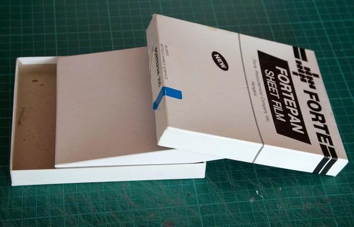 4x5 Pinhole build - Finding a suitable box