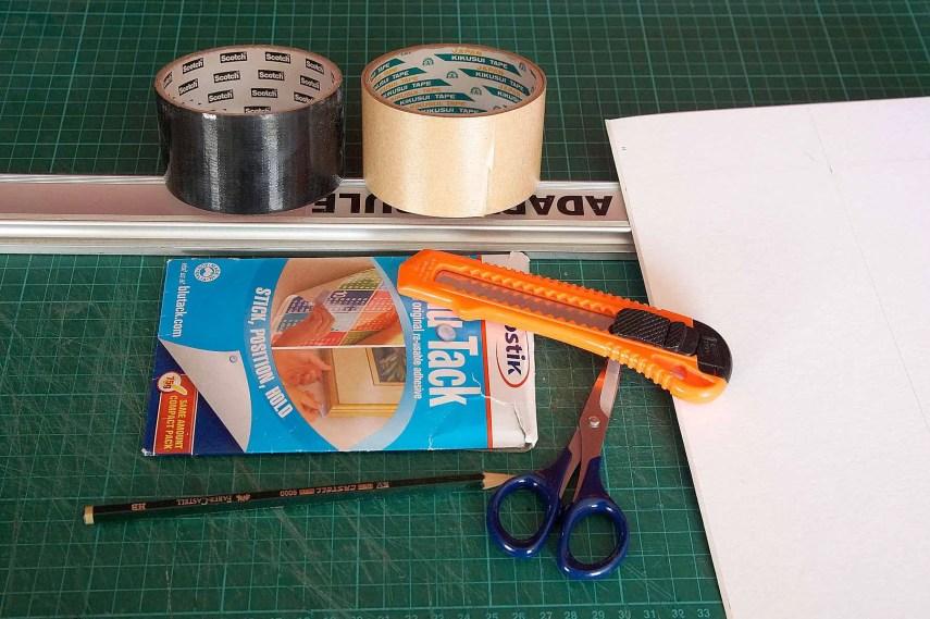 4x5 Pinhole build - Materials