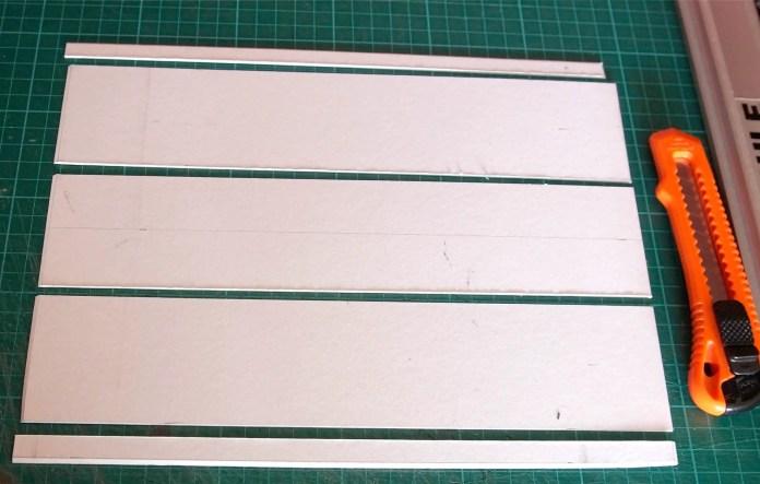 4x5 Pinhole build - Cutting the box sides