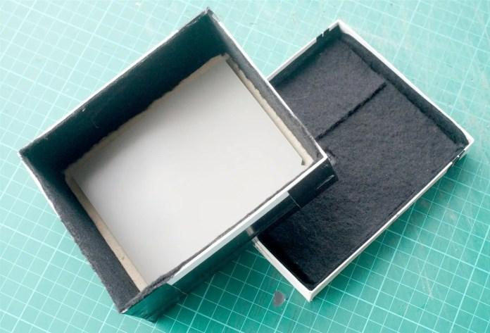 4x5 Pinhole build - Sheet in place