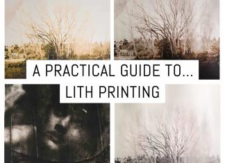 Cover: A practical guide to lith printing