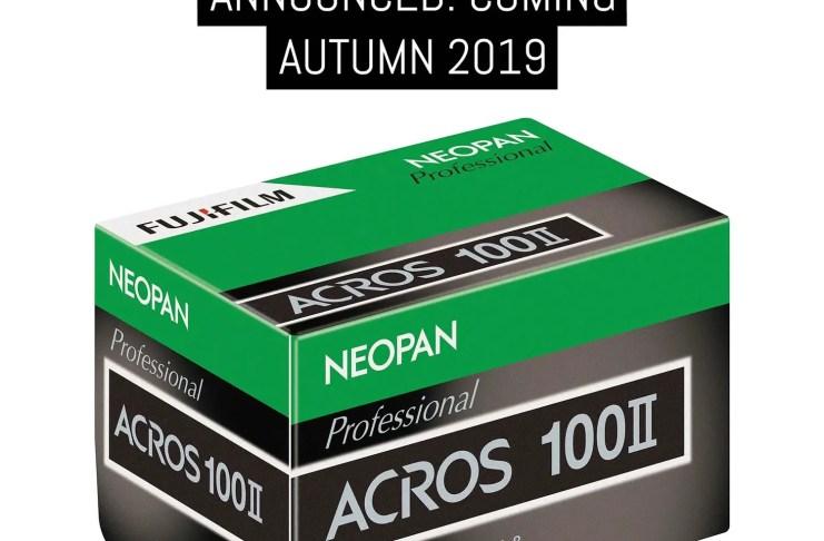 Cover: Brand new Fujifilm NEOPAN 100 ACROS II v2