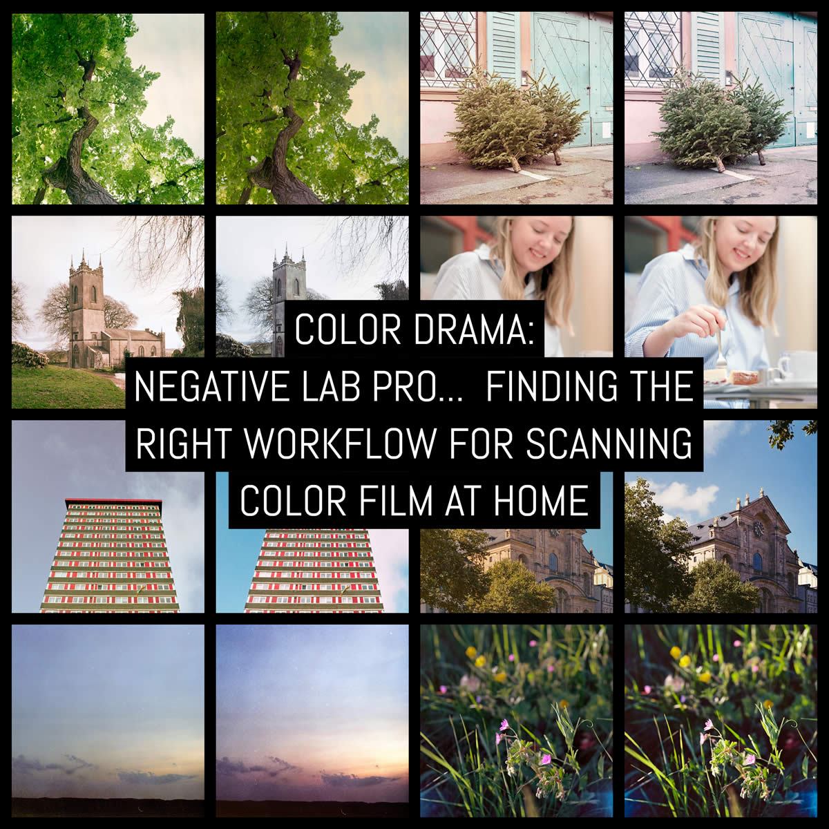 Color drama: Negative Lab Pro v2… Finding the right workflow for scanning color film at home