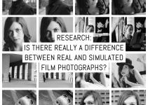 Research: is there really a difference between real and simulated film photographs?