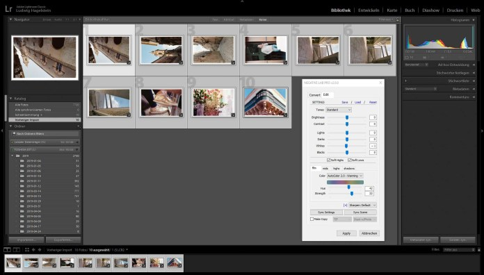 Kodak Ektar 100, Kodak Portra 160, Fuifilm Fujicolor Pro 400H – aall shot at box speed. After NLP color batch conversion – No changes made at all.