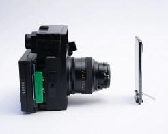 Polaroid 600SE, The Goose vs Apple iPhone face-to-face