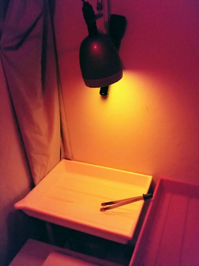My darkroom torches