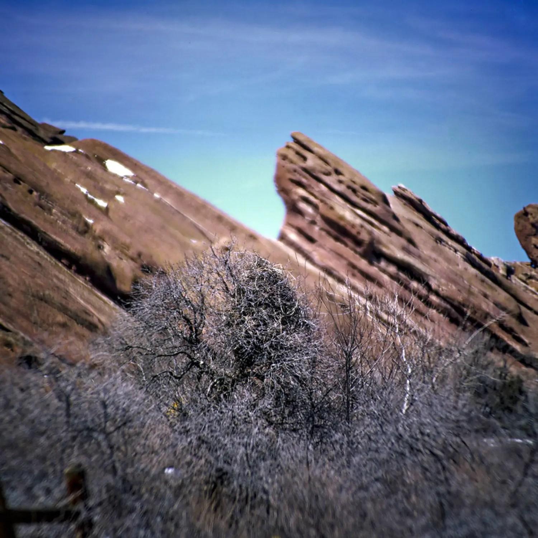 Red Rocks | Bronica S2A and Nikon Nikkor-Q 25CM f/4 | Fuji Velvia 50