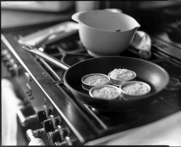 Cooking up crumpets - Ilford Pearl 8x10