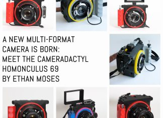Cover: The CAMERADACTYL OG 4x5 hand camera - lightweight large format photography for all