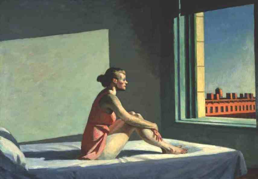 Edward Hopper Morning Sun