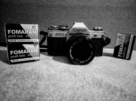 Marius-Andrei is shooting a Canon AT-1 and Fomapan 100 Classic