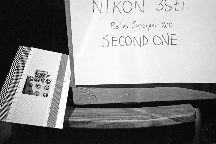 Nikon 35Ti - The Nikon test shot shows impressive sharpness