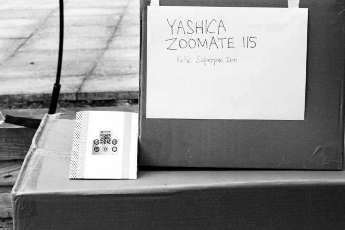 Yashica Zoomate 115 - Test Shot