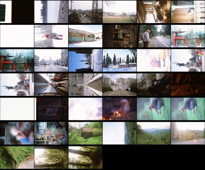 Contact sheet: Fujifilm Provia 100F, Prague to Hunedoara.