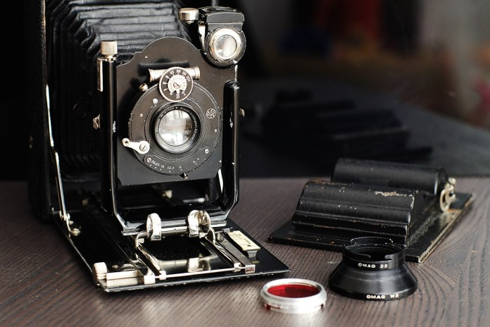 Ihagee Photorex 9x12 plate camera
