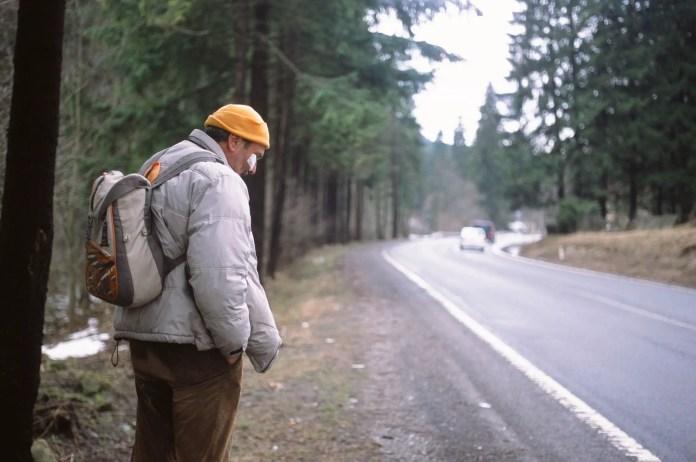 Fujifilm Provia 100F, Hitchhiking