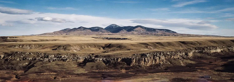 West Butte - Kodak Portra 800