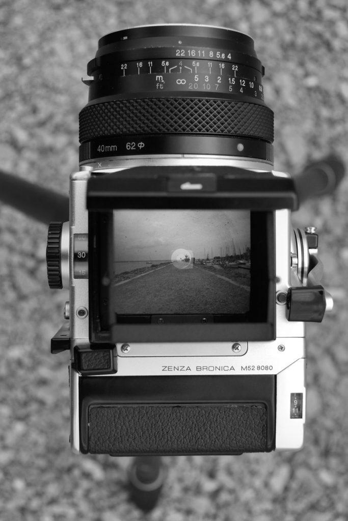 Bronica ETR - through the viewfinder
