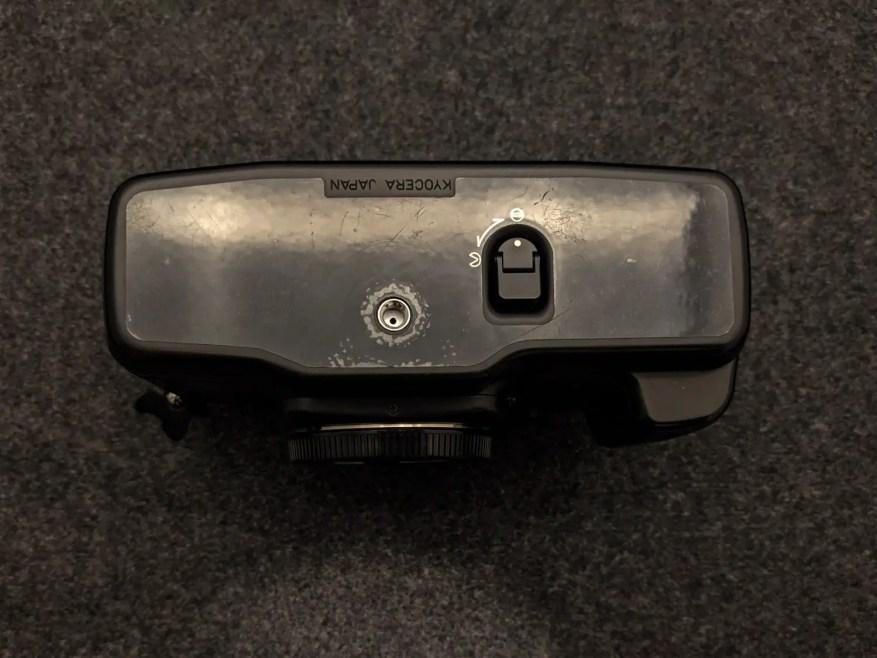 CONTAX AX - Bottom plate