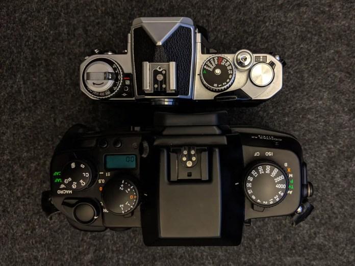 CONTAX AX vs Nikon FM3A