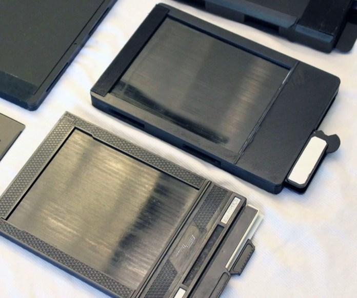 ChromaGraphica dry plate holder vs Fidelity sheet film holder