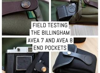 Field testing the Billingham AVEA 7 and AVEA 8 end pockets