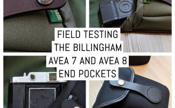 Field testing the Billingham AVEA 7 and AVEA 8 end pockets
