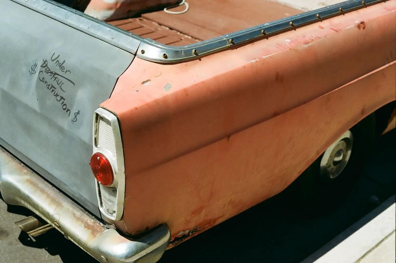 Kodak Gold 200 - Car