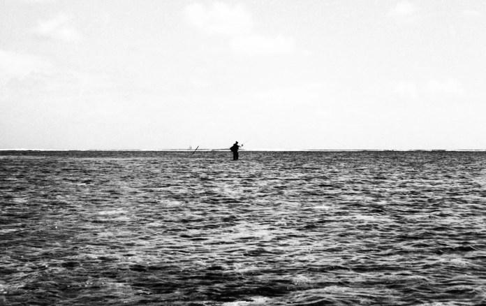 Fisherman 1, Mauritius. Leica M3, Kodak T-MAX 100