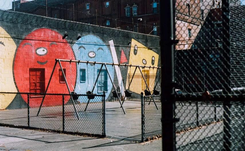 Play. Brooklyn, New York. Leica M3, Kodak Portra 160
