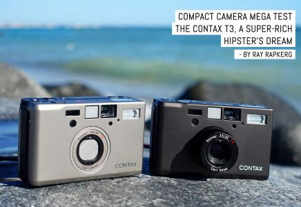 Compact camera mega test- The Contax T3, a super-rich hipster's dream