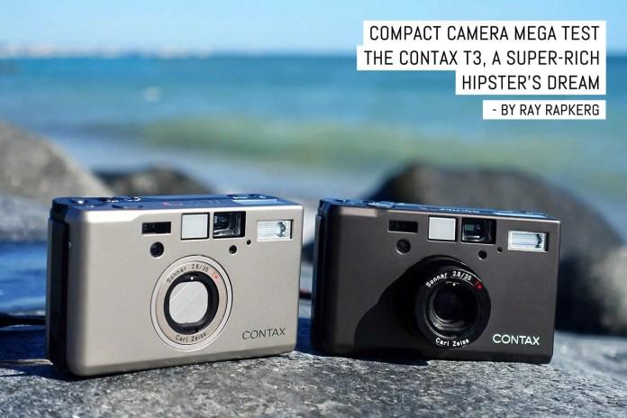 Compact camera mega test- The Contax T3, a super-rich hipster's dream