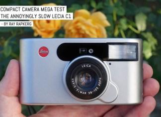 Compact camera mega test: The annoyingly slow Lecia C1