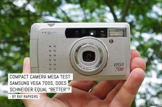 "Compact camera mega test: Samsung Vega 700, does Schneider-Kreuznach equal ""better""?"