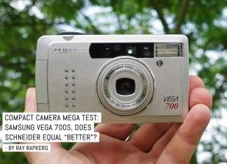 """Compact camera mega test: Samsung Vega 700, does Schneider-Kreuznach equal """"better""""?"""