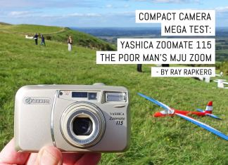 Compact camera mega test- Yashica Zoomate 115, the poor man's MJU zoom