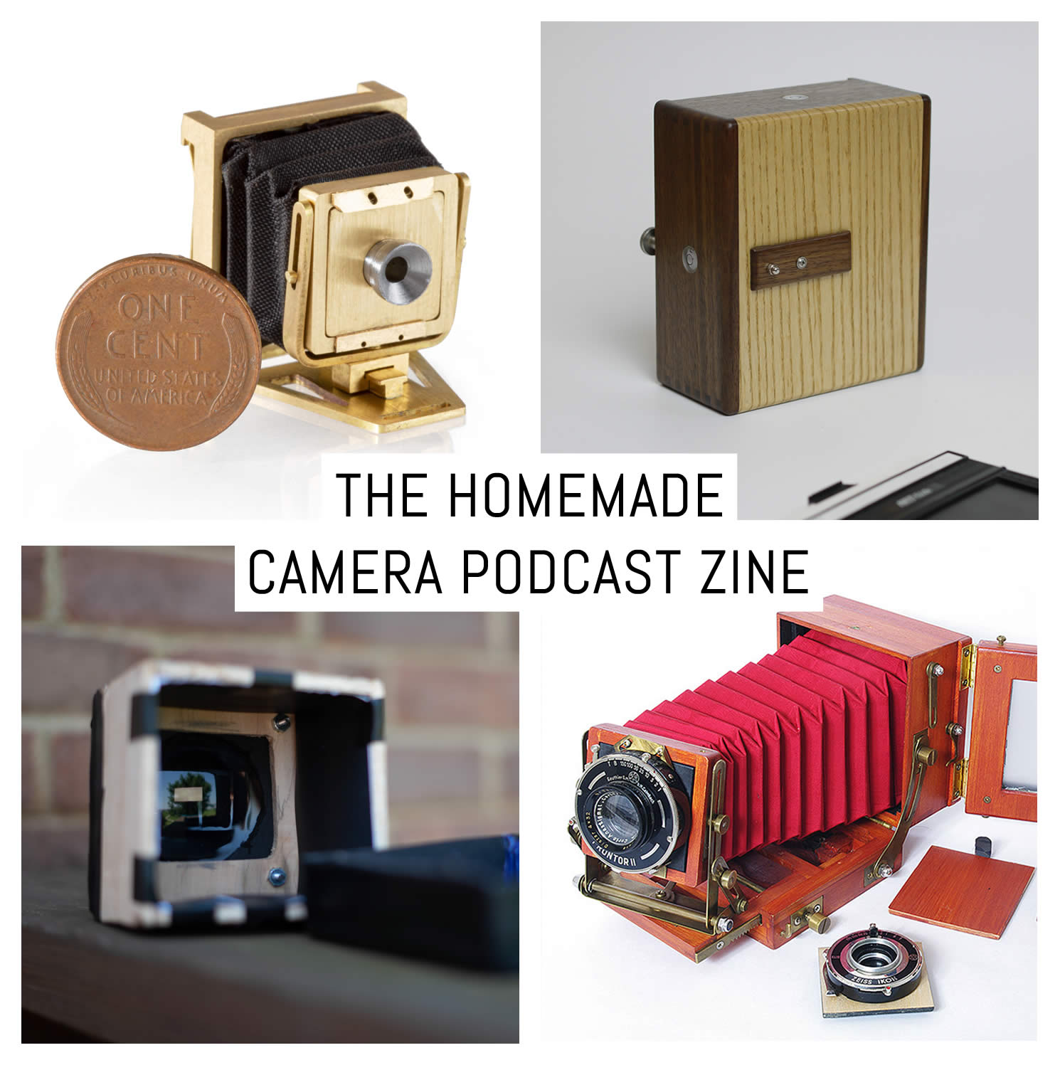 The Homemade Camera Podcast zine – by Ethan Moses
