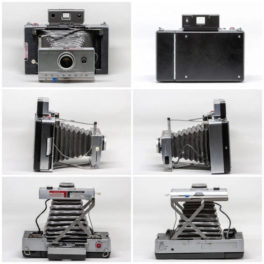 Polaroid Automatic100 - all the angles