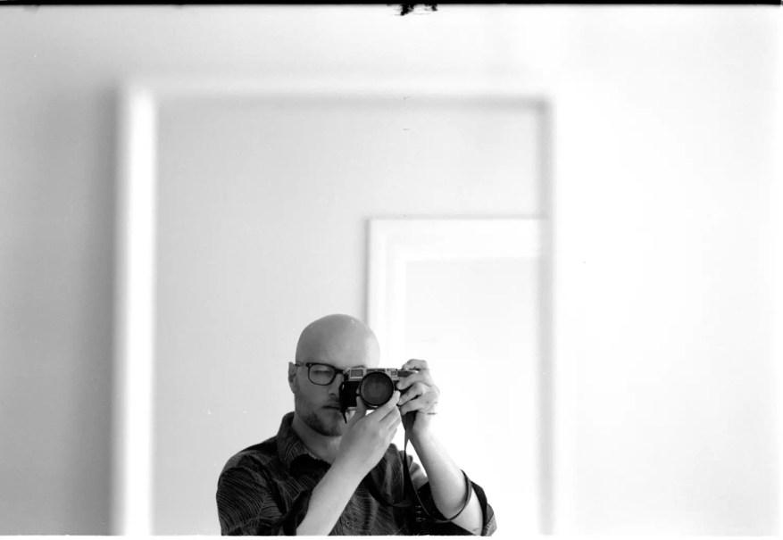 Self portrait - Kentmere 400