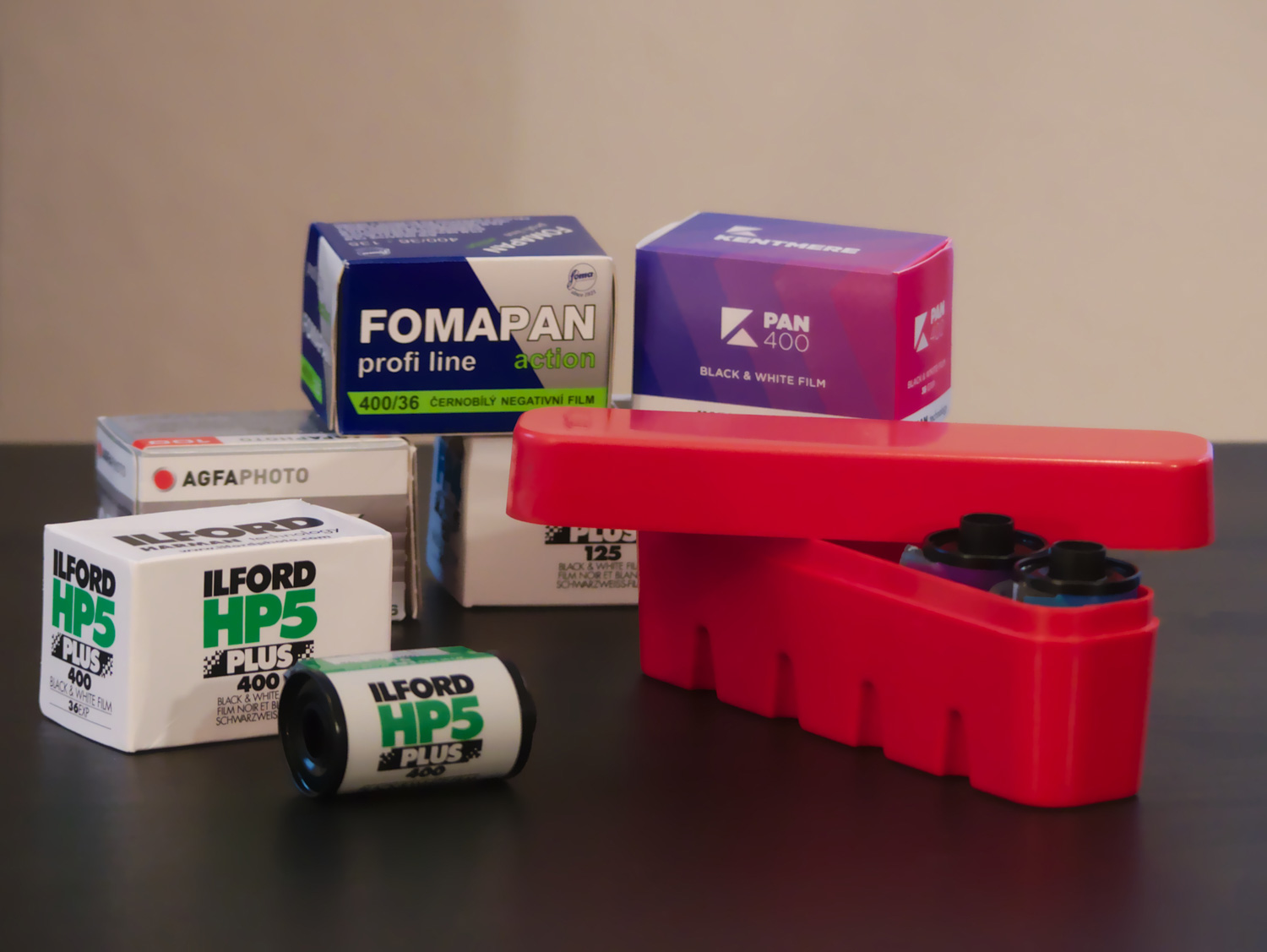 35mm film selection