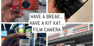Have a break have a Kit Kat film camera